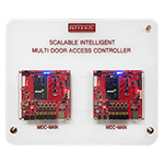 Scalable Intelligent Multi Door Access Controller Demo Kit